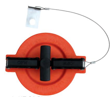 Крышка для адаптера отвода паров