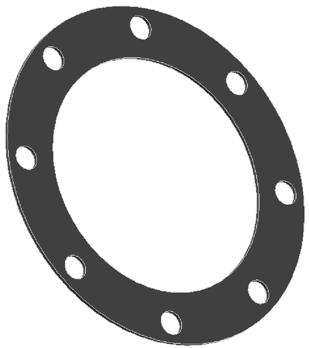 Прокладка донного клапана круглая ПБА 788.00.00.05