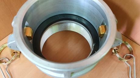 Камлок D300, резьба BSP (алюм.) DIXON DAL300DB