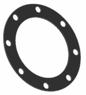 """Прокладка круглая 4"""" для API из витона Tecnometal 10.02.40/V"""