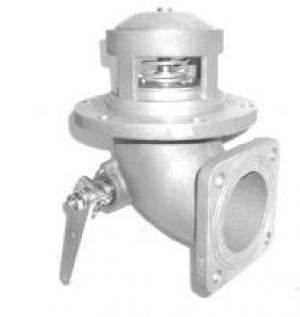 """Клапан донный механический 3"""" (квадратный фланец) с фильтром из нерж. стали Tecnometal 20.00.01/F"""