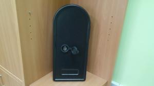 Комплект для пенала (фланец, заглушка, каплесборник) в сборе, без трубы, двойной, 160 мм, правый Partex