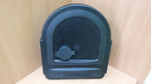 Комплект для пенала (фланец, заглушка, каплесборник) в сборе, без трубы, 160 мм, правый Partex