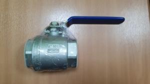 Кран шаровый двухсоставной ДУ50 (нерж.сталь) SCBV-Q6 10-64FC-50