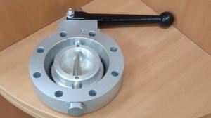 Затвор дисковый Ду80, алюминий