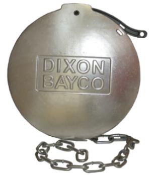 """Крышка защитная 4"""" с цепочкой для адаптера API (алюминий) DIXON 5205"""