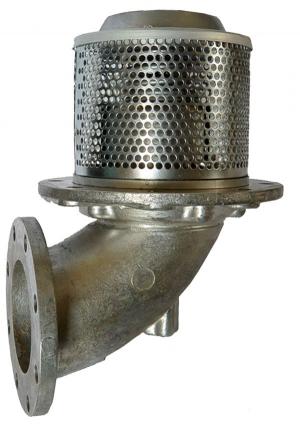 Клапан донный с пневмоуправлением (с ручным дублированием) (круглый фланец) ПБА 692.00.00.00-01