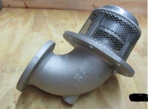 Донный клапан с круглым фланцем (DN 80) Sening BO80