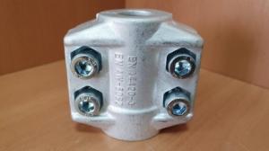 """Хомут 0,5"""" усиленный 4-х болтовой 13х5 мм DIXON SC13х5AL"""