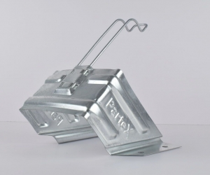 Кронштейн-держатель для противооткатного упора Partex, 200мм (оцинк.)